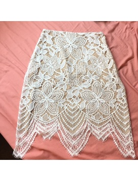 for-love-and-lemons-guava-lace-mini-skirt by for-love-and-lemons
