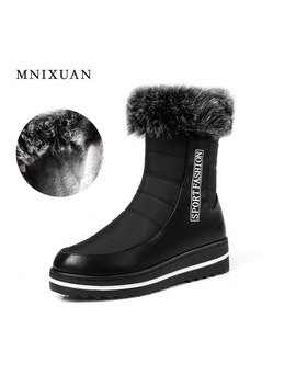 newborn-2017-comfort-boots-snow-boot-for-woman-winter-shoes-waterproof-flat-platform-ankle-boots-fur-warm-with-zipper-big-size- by mnixuan