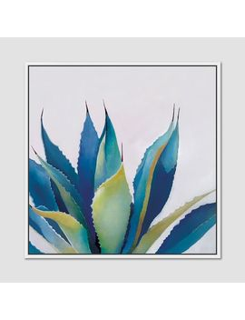 Minted For West Elm   Blue Agave by West Elm