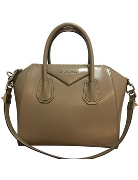 small-antigona-beige-smooth-calf-leather-satchel by givenchy