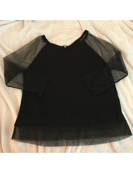 ae-mesh-sleeved-boxy-tee by poshmark