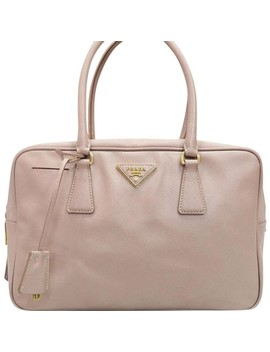 blush-leather-satchel by prada
