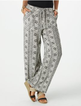 printed-palazzo-pants by dressbarn