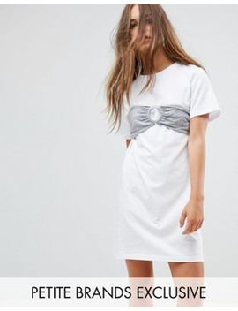 urban-bliss-petite-oversized-t-shirt-dress-with-bra-top by urban-bliss-petite