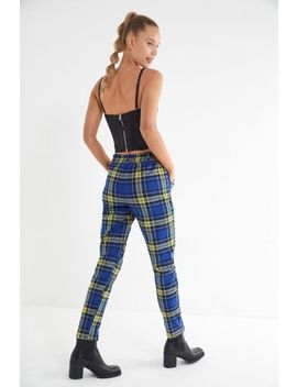 uo-cece-plaid-mom-pant by urban-outfitters