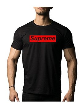 dab-apparels-mens-black-colour-half-sleeve-supreme-round-neck-cotton-t-shirt by dab-apparels