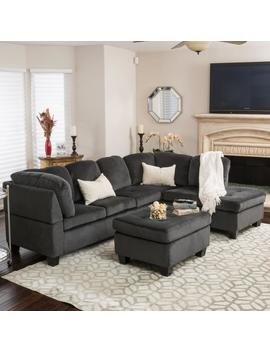 gotham-3-piece-charcoal-fabric-sectional-sofa-set by gdf-studio