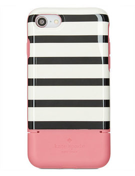 stripe-credit-card-iphone-7_8-case by kate-spade-new-york