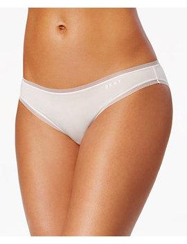 litewear-low-rise-mesh-trim-bikini-dk5002 by dkny