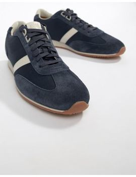 boss-orland-mesh-trainer-in-navy by boss