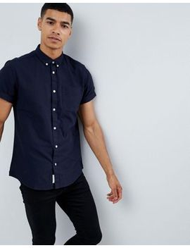 river-island-oxford-shirt-in-navy by river-island