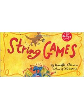 string-games-(klutz) by anne-akers-johnson