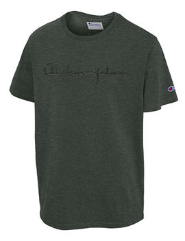 mens-tonal-logo-t-shirt by champion