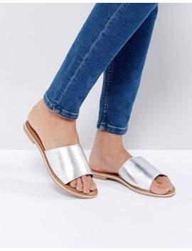 new-look-leather-flat-mule by new-look
