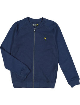navy-bomber-jacket by lyle-&-scott