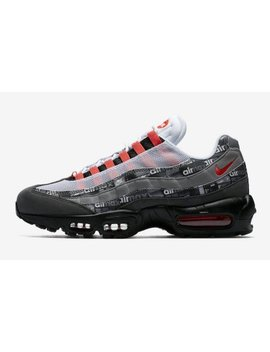 mens-nike-x-atmos-air-max-95-we-love-nike-black-bright-crimson-safety by nike
