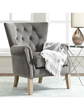 tufted-gray-chair by pier1-imports