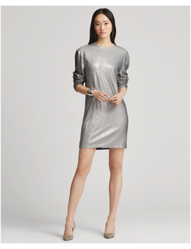 Sondra Sequined Dress by Ralph Lauren