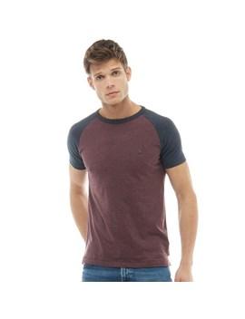 french-connection-mens-raglan-t-shirt-chateaux-melange_marine-melange by mandm-direct