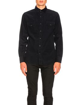 corduroy-western-shirt by saint-laurent