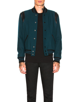 teddy-jacket by saint-laurent