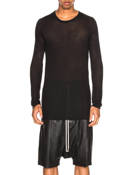 basic-long-sleeve-tee by rick-owens