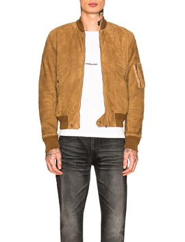 full-zip-suede-jacket by saint-laurent