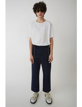 Workwear Trousers Navy by Acne Studios