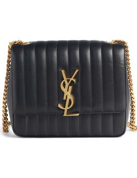 large-vicky-leather-crossbody-bag by saint-laurent