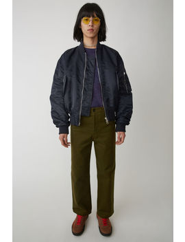 Workwear Trousers Hunter Green by Acne Studios