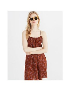 Tulum Cover Up Dress In Warm Paisley by Madewell