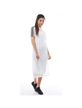 adidas-originals-womens-3-stripe-trefoil-layer-dress-white by mandm-direct