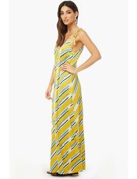 satin-geo-striped-maxi-dress by forever-21