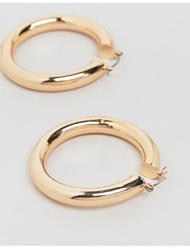 aldo-gold-chunky-hoop-earrings by aldo