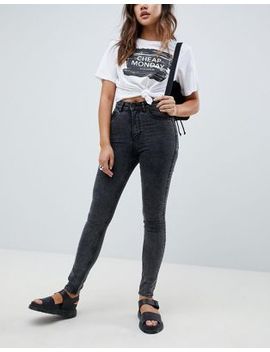 cheap-monday-high-waist-skinny-jean by -cheap-monday-