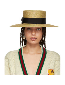 gold-alba-hat by gucci