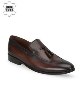 brune-men-brown-handmade-leather-semiformal-slip-ons by brune