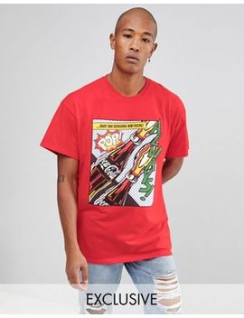 reclaimed-vintage-inspired-x-coca-cola-oversized-t-shirt-with-print by reclaimed-vintage