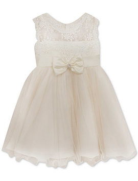 white-lace-illusion-dress,-baby-girls by rare-editions