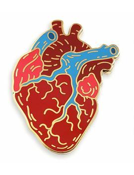 pinsanity-anatomical-heart-enamel-lapel-pin by pinsanity