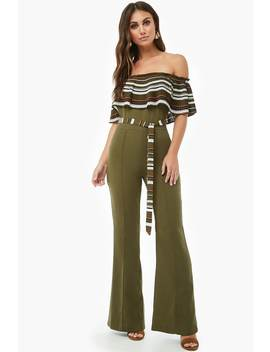 accordion-pleated-flounce-jumpsuit by forever-21