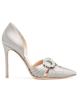 embellished-buckle-sandals by gianvito-rossi