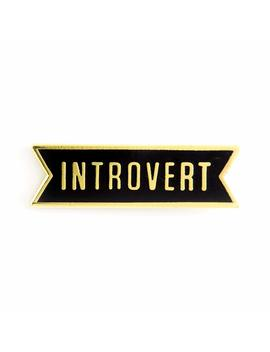 these-are-things-introvert-enamel-pin by these-are-things
