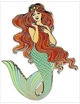 mermaid---hard-enamel-pin-(cloisonne-pin) by amazon