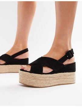 asos-design---trio---sandales-compensées-style-espadrilles by asos-design