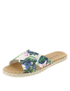 Women's Sloan Crossband Slide Sandal by Learn About The Brand American Eagle