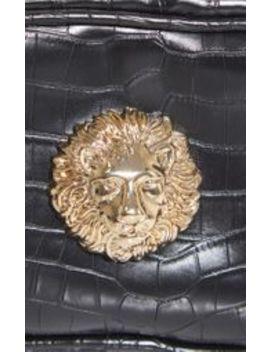 black-lion-bum-bag by prettylittlething