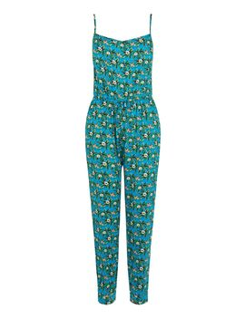 Aymee Floral Peg Leg Jumpsuit by Oasis