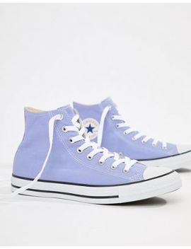 converse-chuck-taylor-all-star-hi-plimsolls-in-purple-160455c by converse