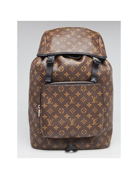 Monogram Coated Canvas Zack Backpack Bag by Louis Vuitton